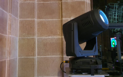 New Elation DaVincis. Led Spot Moving Head