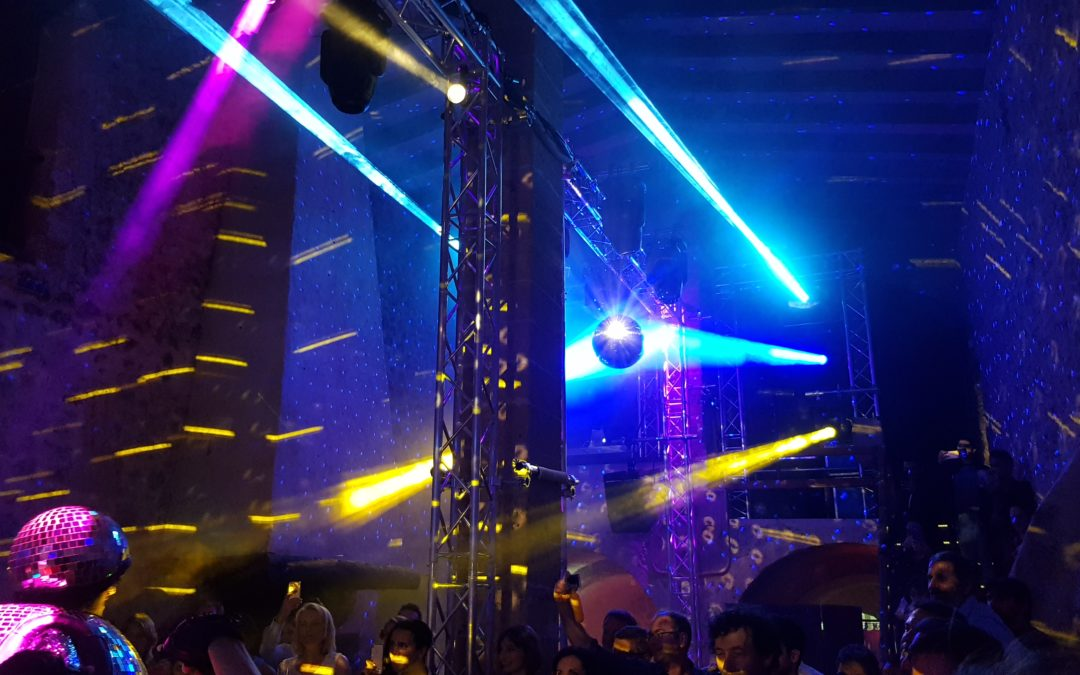 Technical Production and Audiovisual Services for Corporate and Social events in Mallorca